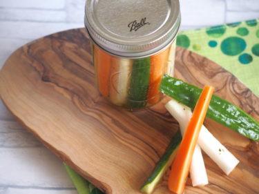 【簡単節約レシピ】節約常備菜にぴったりな野菜のピクルス【1食71円】